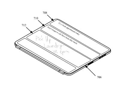 Apple получила патент на следующее поколение чехла для iPad, оснащенного гибким экраном, клавиатурой и солнечными батареями