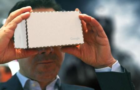 Автономный шлем виртуальной реальности Google могут представить уже на следующей неделе в рамках Google I/O