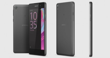 Бюджетный смартфон Sony Xperia E5 с 5″ дисплеем формата 720p оценен в €199