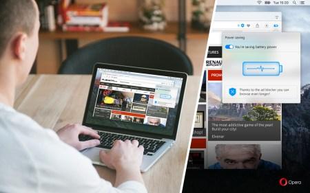 Новый режим экономии заряда батареи в браузере Opera для ПК продлевает автономность ноутбука на 50%