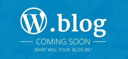 В августе начнётся регистрация доменов в зоне .blog, регистратором выступит WordPress.com