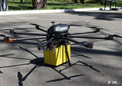 Доставка дронами по-украински: версия Flytrex и Укрпочты