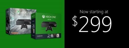 Microsoft снизила цену на Xbox One в США еще на $50, теперь консоль стоит от $299