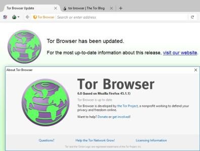 Вышел Tor Browser 6.0