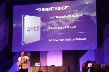AMD начнет отгружать партнерам настольные восьмиядерные процессоры Summit Ridge на архитектуре Zen в следующем квартале