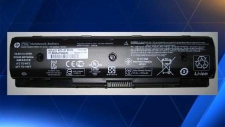 HP отзывает 41 тыс. аккумуляторов для ноутбуков, которые могут полыхнуть ярким пламенем