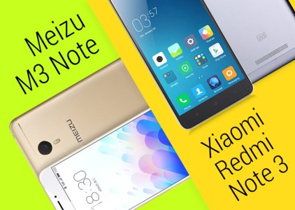 Что и почему выбрать: Flyme OS или MIUI, Xiaomi Redmi Note 3 или Meizu M3 Note?