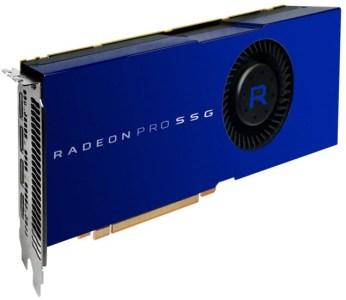 AMD представила видеокарту, к которой можно подключать SSD