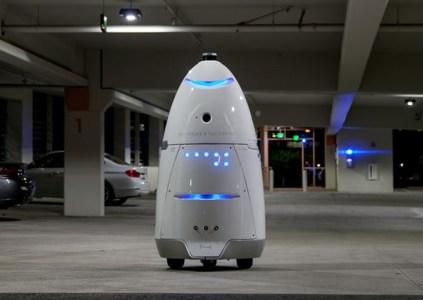 Охранный робот сбил ребёнка и наехал на него, нарушив, тем самым, первый закон робототехники