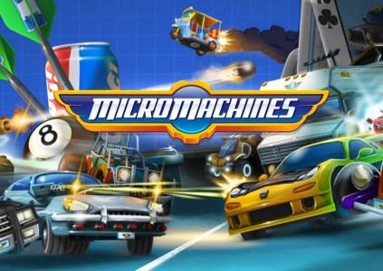 Micro Machines: гонки в масштабе 1:148