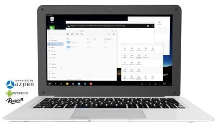 На Kickstarter предлагают ноутбук с Remix OS стоимостью от $69