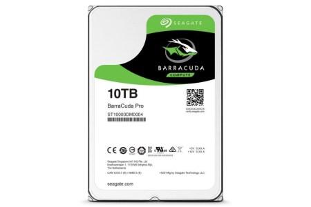 Seagate выпустила первый 10 ТБ жесткий диск для домашних ПК