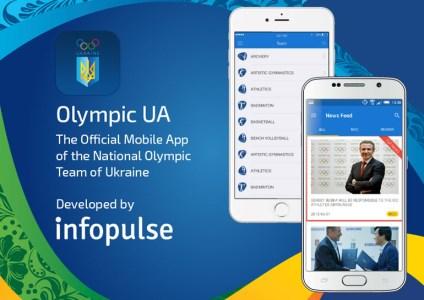 Olympic UA — официальное мобильное приложение для Олимпийской Сборной Украины, созданное Infopulse и НОК