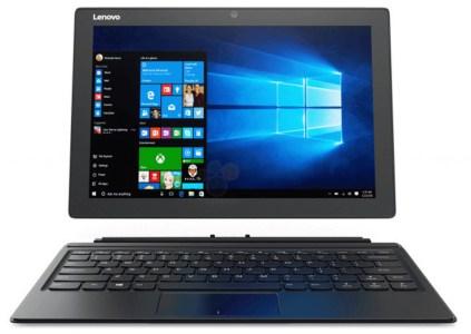 Lenovo выпустила гибридное устройство MIIX 510 с Windows 10