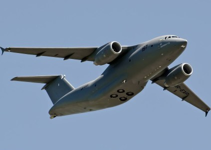В сети появилось впечатляющее панорамное видео демонстрационного полета АН-178