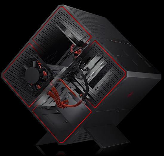 HP создала игровой компьютер Omen X Desktop в оригинальном корпусе