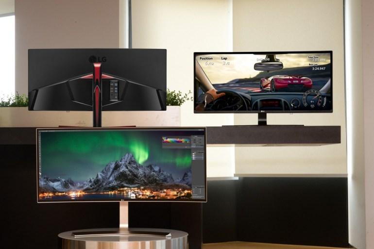 LG привезла на IFA 2016 три крупных широкоформатных монитора