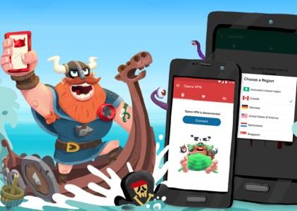 Opera реализовала бесплатный сервис VPN для Android
