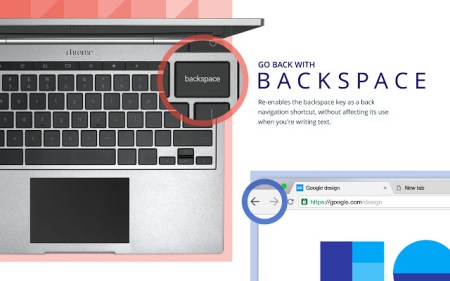 Расширение Google возвращает в Chrome переход на предыдущую страницу клавишей Backspace