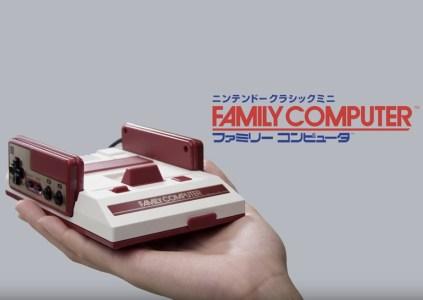 Nintendo анонсировала ретро-консоль Famicom Mini с 30 предустановленными играми