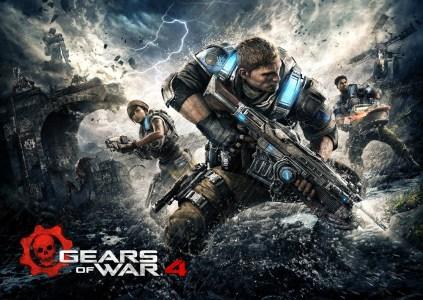 Разработчики отправили  Gears of War 4 «на золото» и опубликовали стартовый трейлер игры