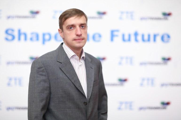 Владимир Охрущак, специалист по коммерческой деятельности ZTE Украина