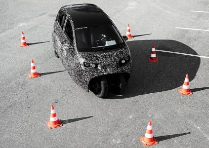 Датский стартап Spiri показал прототип карбонового электромобиля для карпулинга [видео]