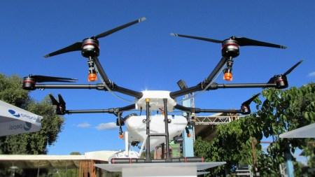 В Украине представили первый специализированный октокоптер DJI Agras MG-1 для аграрной промышленности
