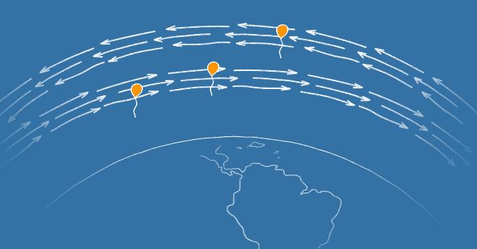 Воздушный шар Google в рамках проекта Project Loon смог более 3 месяцев находиться над заданной территорией