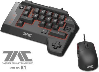 Hori готовит три необычных игровых контроллера для PS4 и ПК