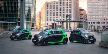 Smart представил новое поколение всех своих электромобилей — ForTwo, ForTwo cabrio и ForFour