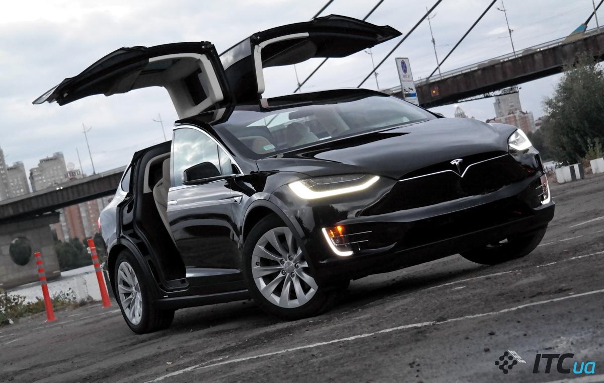 Tesla Model X в Украине: детальное знакомство - ITC.ua
