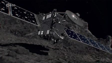 Прямая трансляция завершения 12-летнего путешествия «Розетты» [Обновлено: аппарат упал на комету]