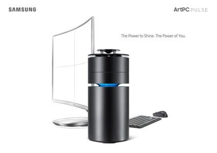ПК Samsung ArtPC Pulse собран в цилиндрическом корпусе 360-градусного динамика Harman Kardon и стоит от $1200