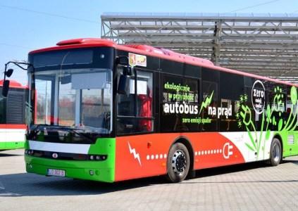 Запас хода электрического автобуса «Богдан А70100» увеличен до 250 км