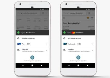 В Android Pay будет интегрирована поддержка Visa Checkout и Masterpass