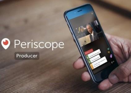 В Periscope появятся высококачественные трансляции с профессиональных камер