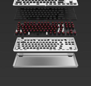 Механическая клавиатура Xiaomi с 87 клавишами, алюминиевым корпусом и настраиваемой подсветкой оценена в $45