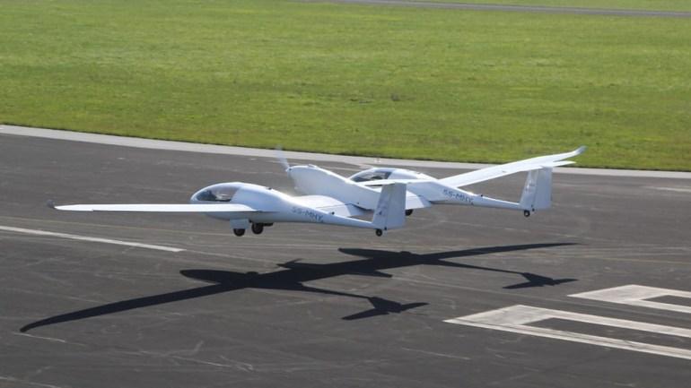 Состоялся первый полёт самолёта HY4 с водородными топливными элементами