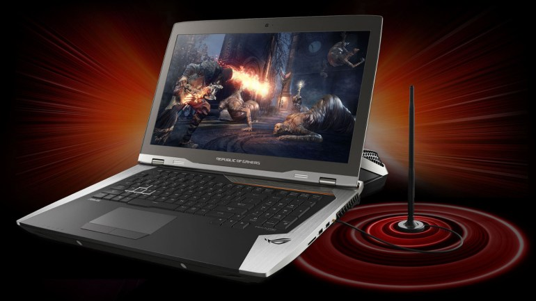 ASUS анонсировала игровой ноутбук ROG GX800 с двумя видеокартами NVIDIA GeForce GTX 1080 и внешней системой жидкостного охлаждения