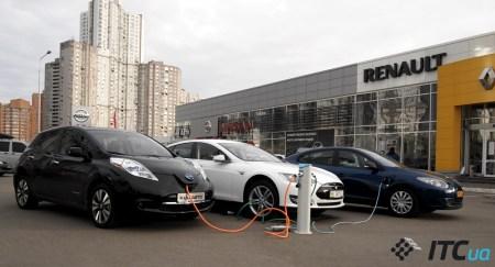 МВД: В Украине зарегистрировано уже 1630 электромобилей, причем 65% из них — впервые