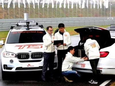 В Корее впервые использовали сеть 5G для обеспечения связи между двумя автомобилями BMW