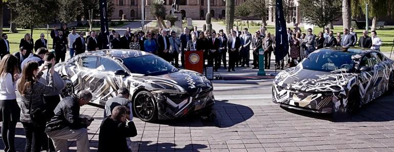 Lucid Motors построит в Аризоне завод стоимостью $700 млн и запустит производство электромобилей в 2018 году