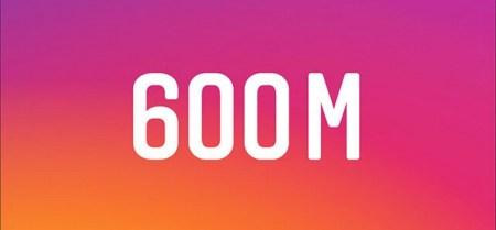 В Instagram уже более 600 миллионов пользователей, причем темпы роста увеличиваются