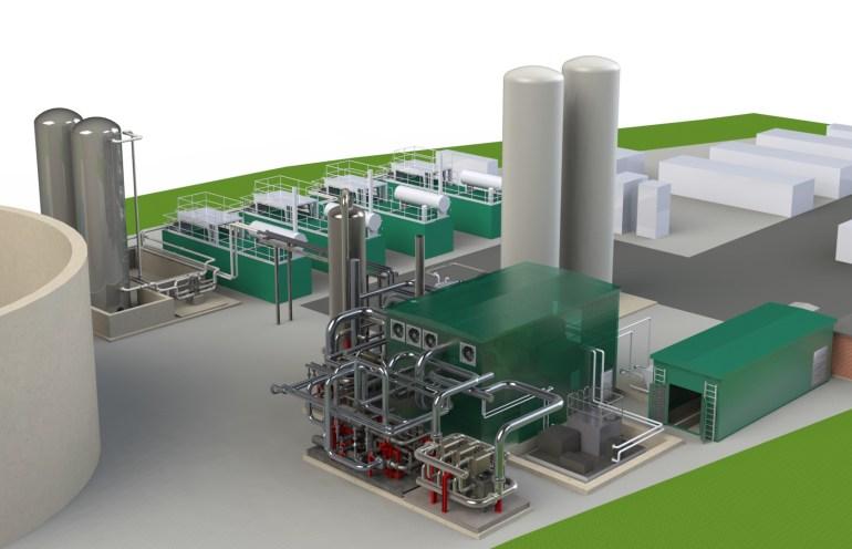 В Великобритании запустили крупнейшую в мире криогенную электростанцию, которая вдобавок использует дешевую энергию сгорания метана с городских свалок