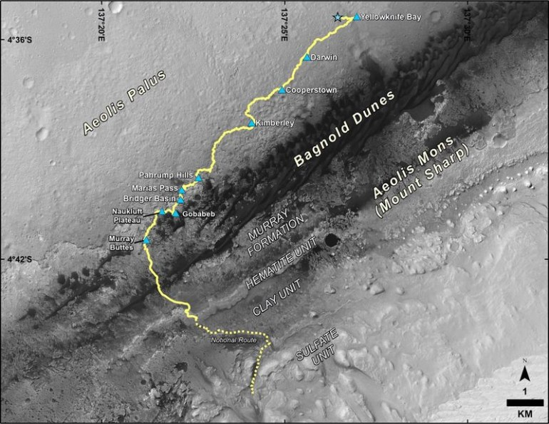 Curiosity обнаружил новые доказательства того, что в прошлом Марс был пригодным для жизни