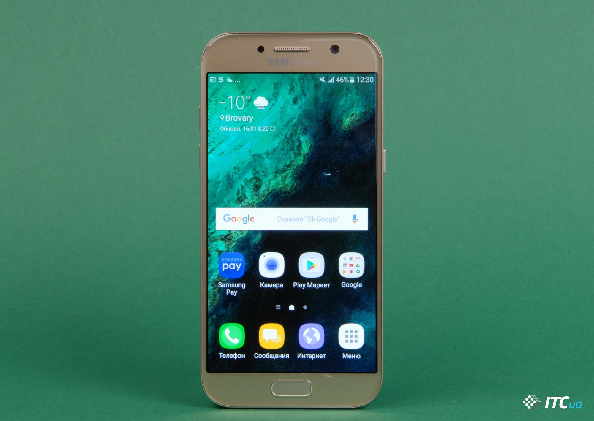 Обзор Samsung Galaxy A5 (2017): эволюция - ITC.ua