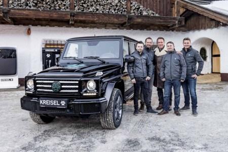 Специально для Арнольда Шварценеггера внедорожник Mercedes-Benz G-Class превратили в электромобиль [видео]