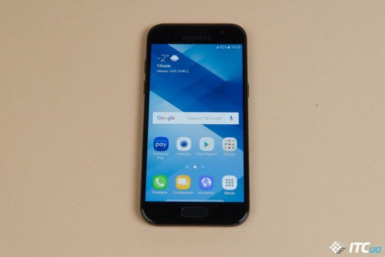 Обзор смартфона Samsung Galaxy A3 (2017)