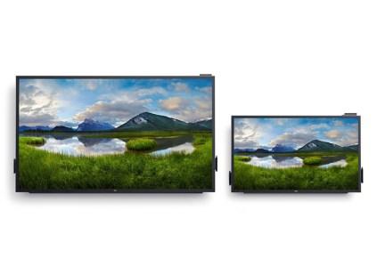 Dell подготовила к выпуску 86-дюймовый сенсорный монитор